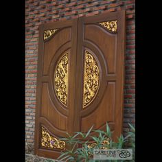 Our Teak wooden doors are designed and manufactured by a team of designers from CareLine Studio with over 20 years experience in multiple countries including Europe ,U.A and Southeast Asia. House Main Door Design, Wooden Main Door Design, Double Door Design, Classic House Design, Front Door Design, Gate Design, Wooden Bird Houses, Front Elevation Designs, Wooden Doors