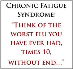 how to explain chronic fatigue syndrome to friends - Buscar con Google