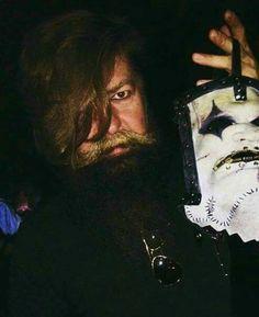 Jim's new mask ❤ James Jim, All Hope Is Gone, Craig Jones, Mick Thomson, Chris Fehn, Sid Wilson, Paul Gray, Stone Sour, Corey Taylor