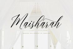 Introducing Maisharah a new Modern Script Calligraphy Typeface with its own unique flow and elegant personality. With a style like this, this font w Handwritten Fonts, Script Fonts, All Fonts, Beautiful Calligraphy, Modern Calligraphy, Beautiful Fonts, Signature Fonts, Brush Font, Photoshop Illustrator