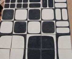 Mod Moroccan Cement Tiles by Popham Design