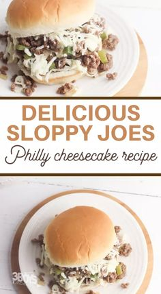 The family is going to love these Philly Cheesesteak Sloppy Joes! Every bite is packed full of flavor and it's the perfect hearty comfort food. If you love regular sloppy joes, you're going to love the taste and flavor of these. Each bite is full of pepper and onions and it's one recipe that my family loved. If you're looking for more ground beef recipes, I've got you covered! Add on even more provolone cheese to take this flavor over the top! Trust me – it's a fast and delicious dinner that eve