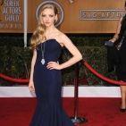PHOTOS - SAG Awards 2013 : Amanda Seyfried VS. Jennifer Lawrence lumineuses en bleu nuit !