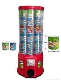 A Pringles vending machine!