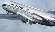 The première Caravelle pour Air France Sud Aviation, Civil Aviation, Air France, Concorde, Vintage Air, Vintage Travel, British Airways, Air Inter, Airline Attendant