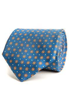 Montini Navy Tie