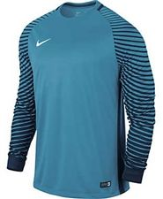 428112fdb4d Nike Long Sleeve Gardien Goalkeeper Jersey (Current Blue/Midnight  Navy/White)