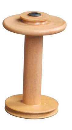 Zweifädiger Antrieb: Schnellspinnspule #ashford #spinning #wheel #eSpinner