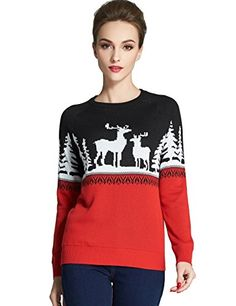 Shop a great selection of Camii Mia Women's Crew Neck Pullover Ugly Christmas Sweater. Find new offer and Similar products for Camii Mia Women's Crew Neck Pullover Ugly Christmas Sweater. Best Ugly Christmas Sweater, Christmas Sweaters For Women, Holiday Sweaters, Christmas Clothing, Sweater Coats, Black Sweaters, Pullover Sweaters, Women's Sweaters, Pulls