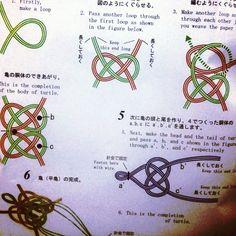 水引 Mizuhiki Paper Codes (Japanese traditional ribbons) at @Etsy…