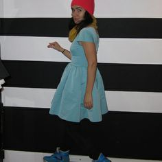 kjole og tophue #dixiegrey 2012