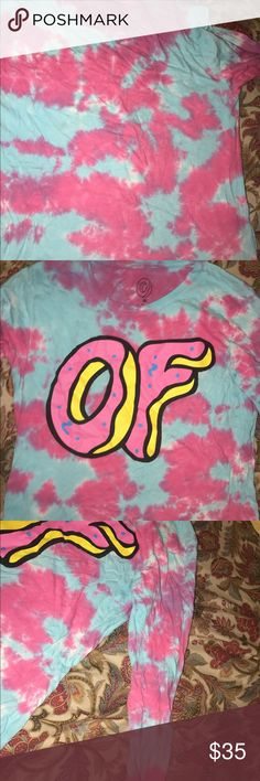 Odd Future long sleeved shirt perfect condition, used once, very bright odd future Tops Tees - Long Sleeve