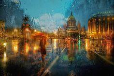 Las Mejores Fotografías del Mundo: San Petersburgo bajo la lluvia