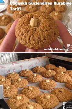 Delicious Desserts, Yummy Food, Healthy Sweet Snacks, Food Words, Foods With Gluten, Turkish Recipes, Perfect Food, Cookie Recipes, Food And Drink