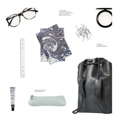 """marble"" by uncharged-batteries ❤ liked on Polyvore featuring Ace, MAC Cosmetics, Undercover and Monki"