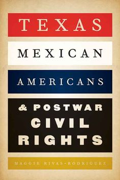 Written for general readers as well as scholars, this book sheds new light on the local activism that propelled the national civil rights movement, as well as on the birth of an organization that has been at the forefront of Mexican American and Latino civil rights.