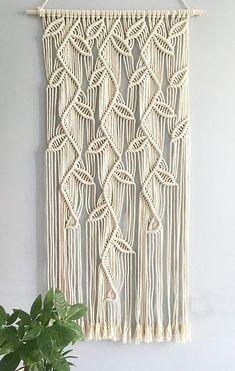 macrame plant hanger+macrame+macrame wall hanging+macrame patterns+macrame projects+macrame diy+macrame knots+macrame plant hanger diy+TWOME I Macrame & Natural Dyer Maker & Educator+MangoAndMore macrame studio Diy Macrame Wall Hanging, Macrame Curtain, Macrame Plant Hangers, Macrame Art, Macrame Design, Macrame Projects, Macrame Knots, Hanging Tapestry, Macrame Wall Hangings