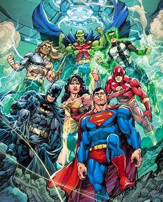 Justice League Comics, Dc Comics Heroes, Arte Dc Comics, Dc Comics Characters, Superhero Characters, Dc Comic Books, Comic Art, Cbr, Univers Dc