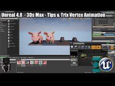 3Ds Max : Tips & Trix Vertex Animation in UE4 4.8 - KJ Interactive