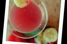 """skinny"" watermelon martini ♥"