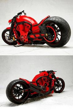 Red & Black Motorcycle