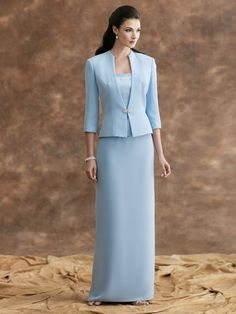 Two Piece Mother Of The Bride Dresses