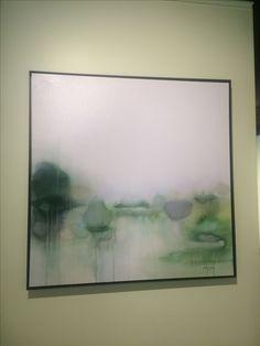 'Lilac sentiment' 36x36 acrylic on canvas