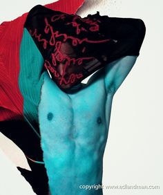 EDLAND MAN  Photography and Art: JP Gaultier Homme Vintage Art Series by Simone Val...