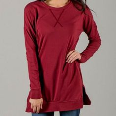 ad These sweater tunics look great with jeans or leggings and are so comfortable! Only $29 shipped