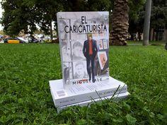 EL CARICATURISTA novela de Miguel Ale La magia de dibujar al mundo y su tragedia   publicada en AMAZON en formato kindle y libro tapa blanda.