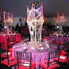 Amazing candelabra centerpieces for halloween party