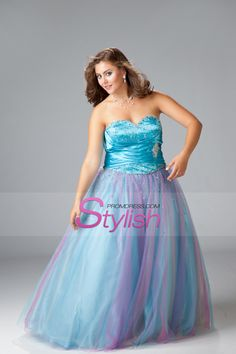 cd9ea6a8844 Prom Dresses A Line Multi-Color Floor Length Tulle Prom Dresses Under 100