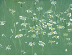 Alex Katz, Daisies #2 1992