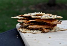 Everything Flatbread Crackers.