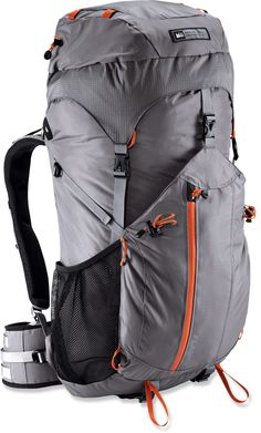 REI Flash 50, ultralight and affordable backpack. I love REI packs.