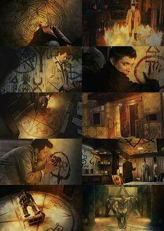 Supernatural»Signs, sigils and traps