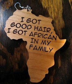 Jewel Afrika Design Earrings, Love them