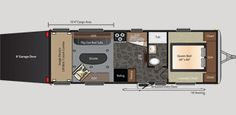 Keystone RV 260 floorplan