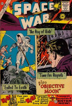 Comic Book Cover For Space War #5