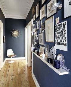 Hallways are awkward spots in our homes, both overlooked and undervalued —they're weird in-between places that we pass through multiple times daily, but we don't actually spend a lot of time there. What they don't have to be is a waste of space; with a little time and effort they can be storage powerhouses.
