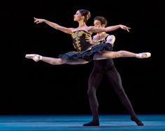 Karina Gonzalez and Connor Walsh of Huston Ballet (Photo: Amitava Sarkar)