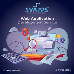 Svapps soft solution is here with the web application development services, include both front-end and back-end development. Whether it is architecting an enterprise application or enhancing an existing application, our developers are here up for the challenge to complete the project within the time. Contact us: 9573999985 #webapplicationdevelopment #websitedevelopment #software #applicationdeveloper #website #webapplication #bestwebapplicationdevelopment #softwaredevelopment Web Application Development, Software Development, Enterprise Application, Up For The Challenge, Best Web, Training Courses, Digital Marketing, Web Design, Challenges
