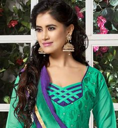 cotton salwar hand designs catalogue - Google Search
