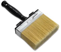Giant Brush Its handle can be unscrewed so the brush can be attached to a broom handle, great for painting hard-to-reach areas.