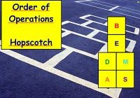 Hopscotch order of operations