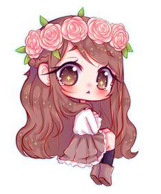 Drawing anime eyes deviantart Ideas for 2019 - Kawaii / Chibi - Kawaii Anime Girl, Chibi Kawaii, Cute Anime Chibi, Anime Art Girl, Chibi Girl Drawings, Cute Kawaii Drawings, Chibi Drawing, Drawing Pin, Arte Do Kawaii
