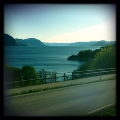 Stille på fjorden