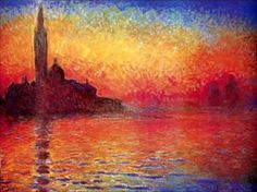 Venice Twilight by Claude Monet (Impressionism in France)