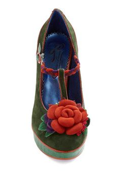 Cultivating Creativity Heel, #ModCloth (Perfect for your Elven Maiden or Garden Fairy)