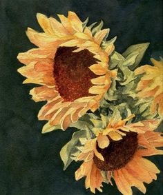 """Sunflower Season"" - Original Fine Art for Sale - © Vikki Bouffard"